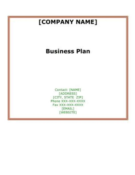 Small Business Plan Template -9 Free Sample, Example